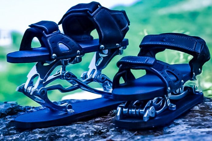 Kinetic Step Exoskelleton Shoes Augmented Walking