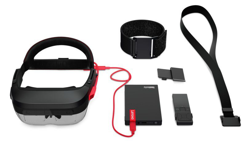Lenovo_ThinkReality_A6 Parts Overview