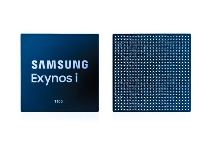 Samsung Exynos-i-T1001 IoT Chip Infographic