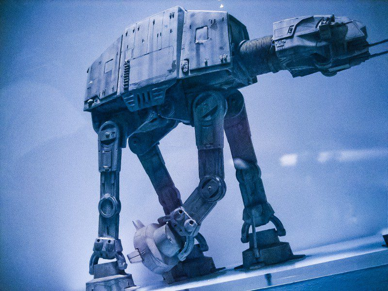 Star wars at at phil tippett imperial walker go motion ilm effects