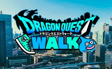 Dragon Quest Walk Location Based Mobile Game Square Enix iOS Android