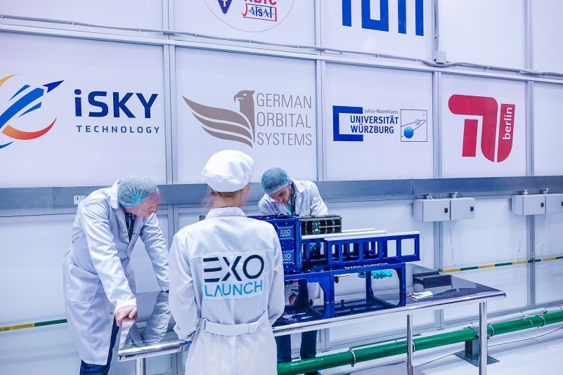 Exolaunch supports deutsches zentrum f%c3%bcr luft und raumfahrt with largest german smallsat cluster launch newspace startup news