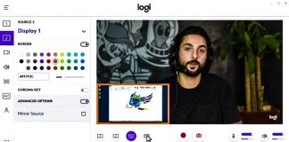 Logitech Capture Screenshot