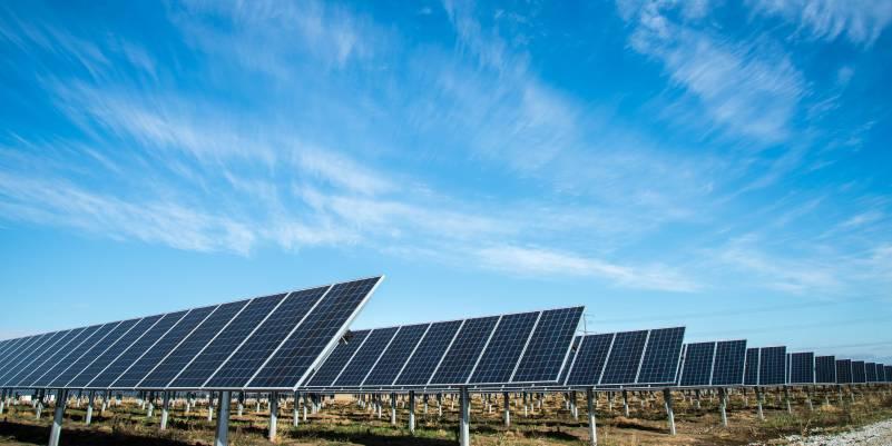 Solar Modules Panels Energy Farm
