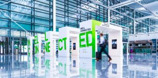 Well Connected Airport Munich Technology Exhibition Bayer Design News