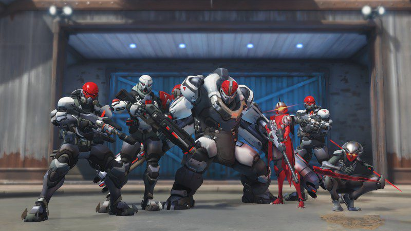 Overwatch Role Queue Matching Beta Consoles OVR Team Poses