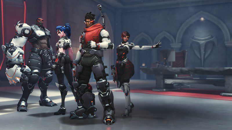 Overwatch Role Queue Matching Beta Consoles OVR Team Posing