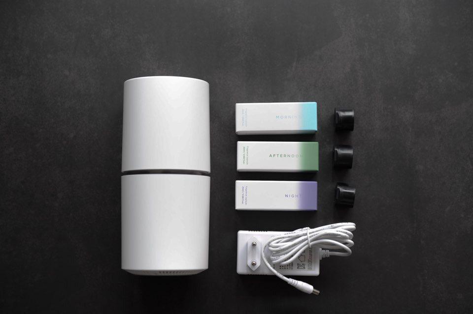 Pium Smart Smell Fragrance Perfume IoT Home Difuser Dispenser Alexa iOS Device Startup Starter Kit
