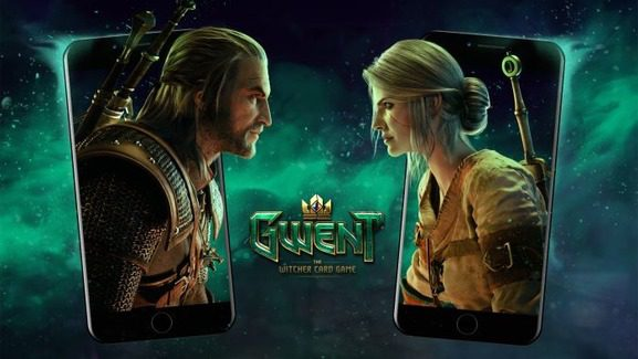 Gwent iPhone iOS Witcher Card Game Mobile Geralt Ciri