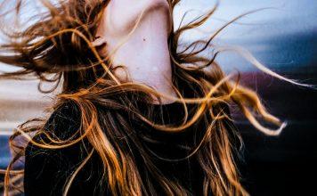 Woman Hair Gravity Visual STEM Experiment Demonstration Video Education