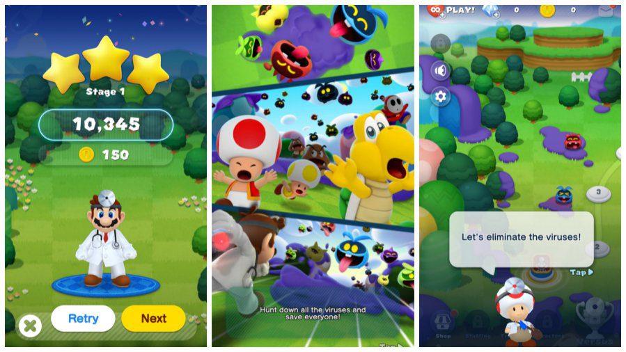 Dr Mario World Gameplay Screenshots 1
