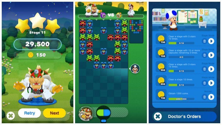 Dr Mario World Gameplay Screenshots 2