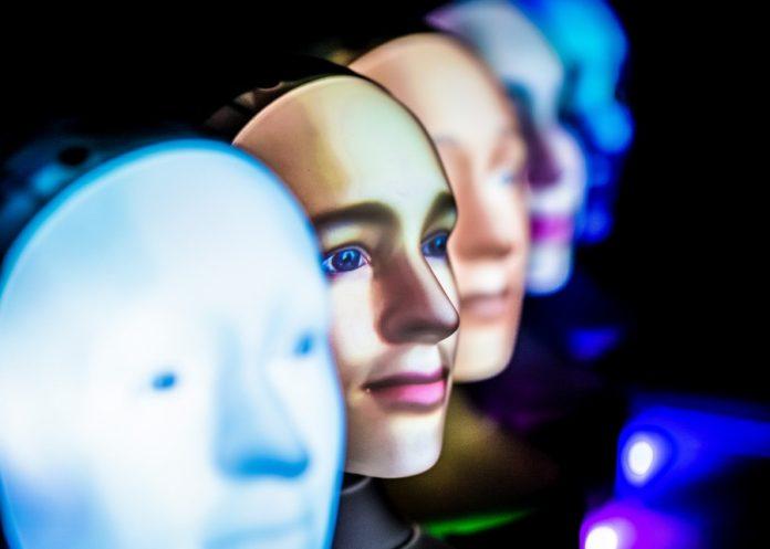 Many faces Furhat Robotics