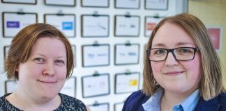 Nightingale HQ founders team shot - Steph Locke and Sarah Williams Crop