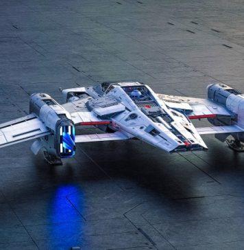 Tri-Wing S-91x Pegasus Starfighter Porsche Star Wars Designer Alliance Wired Brand Labs Video