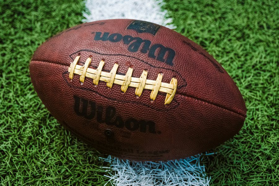 American Football Ball Wilson Sports Student Athletes Compensation Question Streaming Viewers Audience Revenue