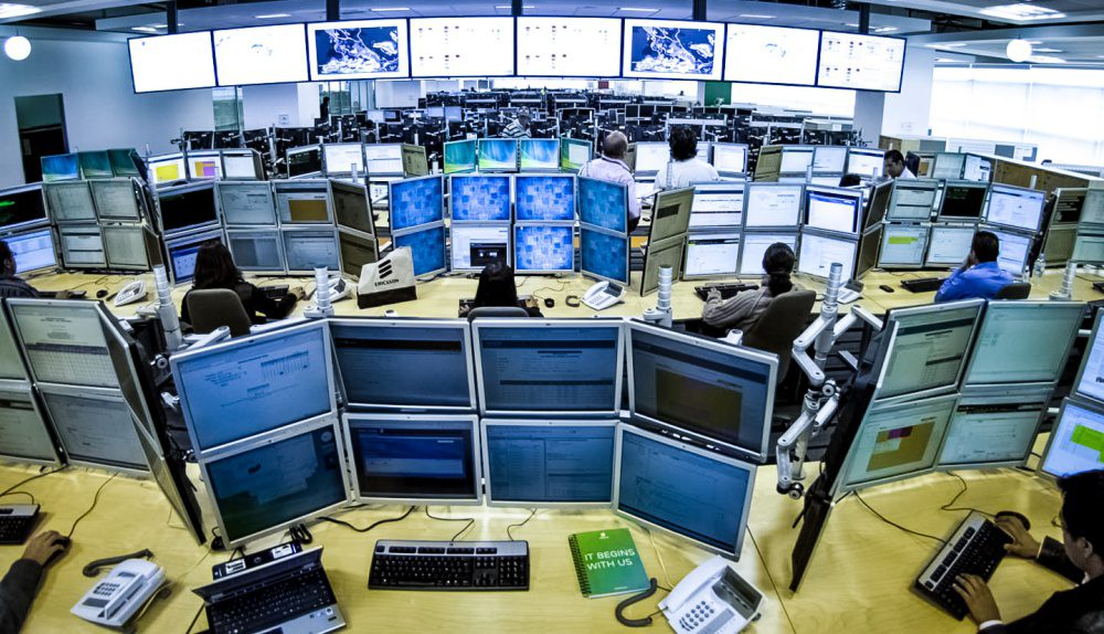 Ericsson Network Operations Control Room NOC Photo_crop