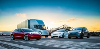 Tesla Fleet Family Models Green Tech Review Article Group Designs