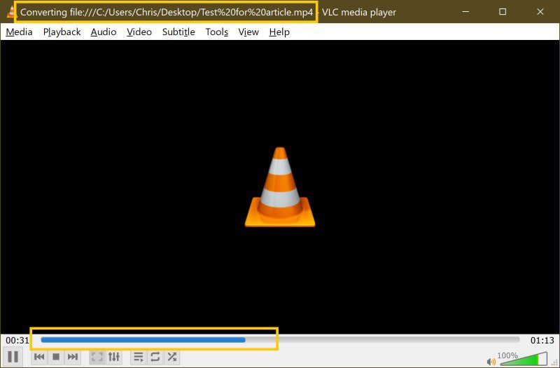 Bulk Mov To Mp4 Video Conversion Free Easy VLC Step 6