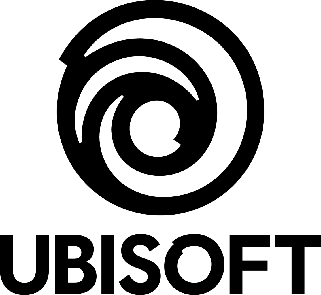 Ubisoft Stacked Logo Black
