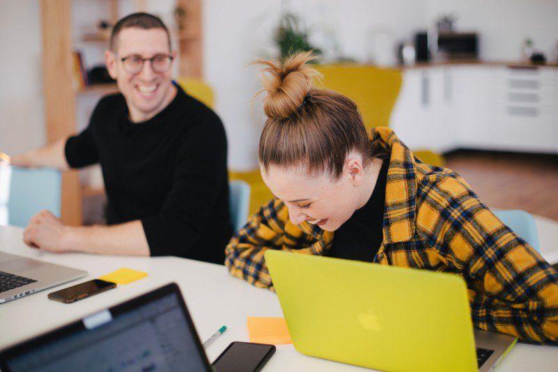 Tips For Solopreneurs Team Having Fun At Work Office