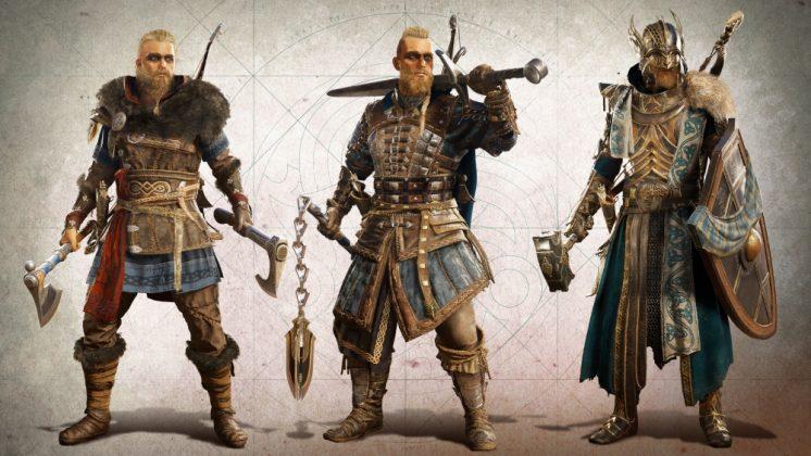 Customization options for male hero