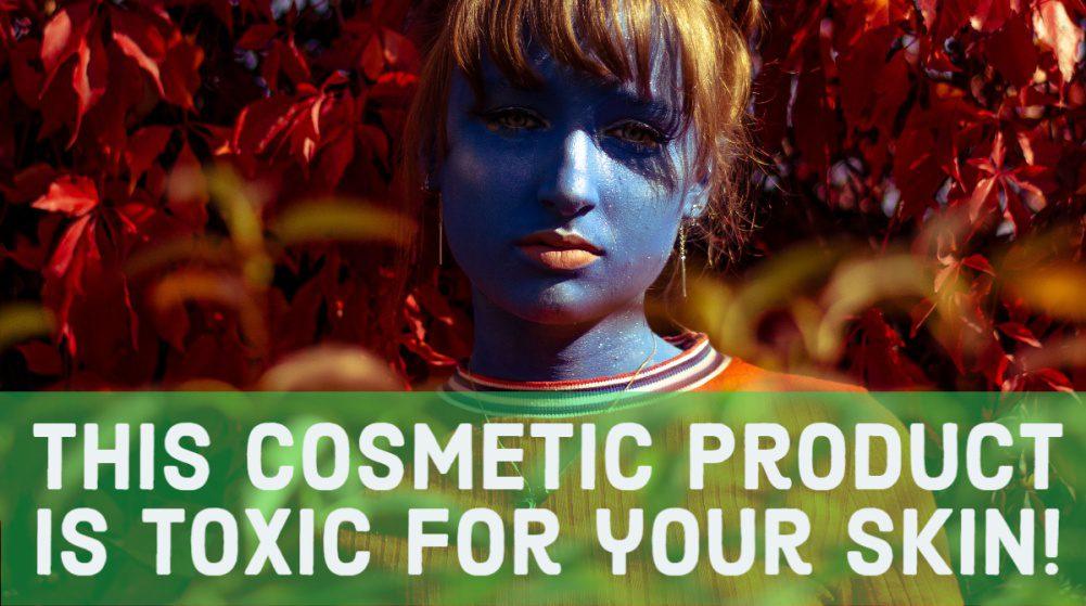 Blue Skin Girl Makeup Cosmetics Clickbait Article