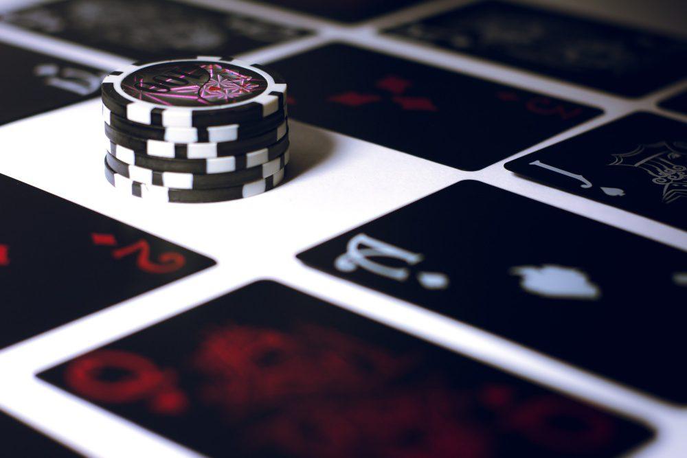 Online Blackjack Chips Game Cards