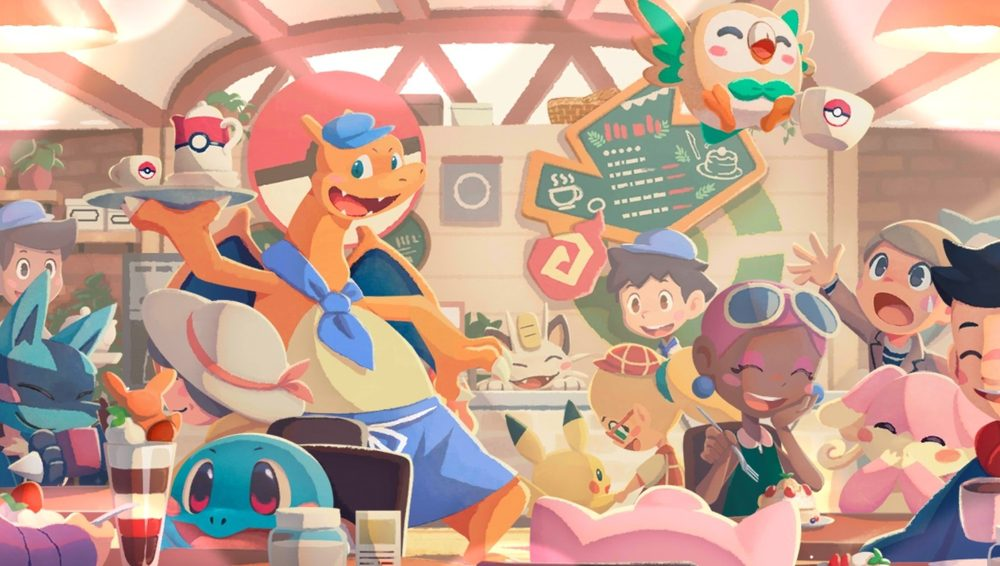 Pokemon Cafe Mix Mobile Switch Puzzle Game Review Article Cute Anime Style