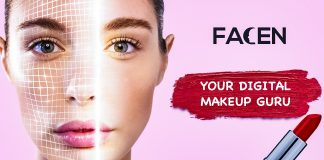 FACEN Startup Germany Digital Makeup Guru Influencer Affiliate Beauty Content AI Matching Platform Pre Seed Stage News