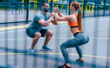 Squatting Fitness Workout AR Apps Apple Iphone Flip Fit Squat Gamification