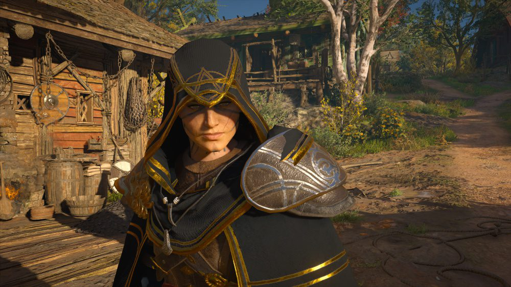Ubisoft Assassins Creed Valhalla Review Clipping Error Armor