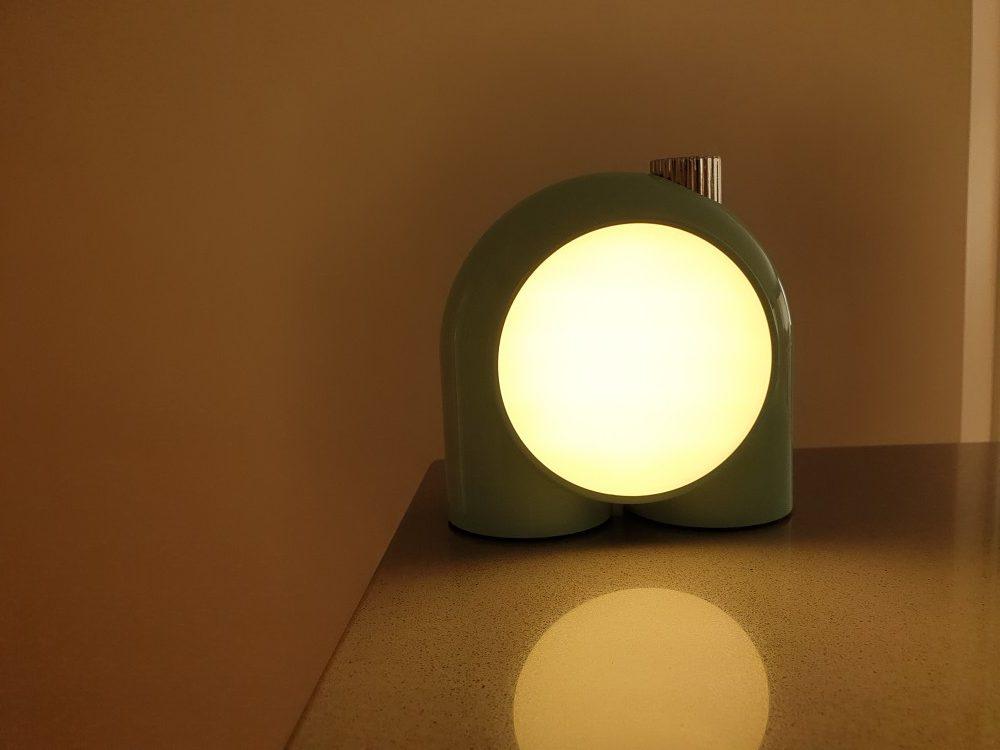 Divoom Smart Lamp Planet-9 Orange Corner