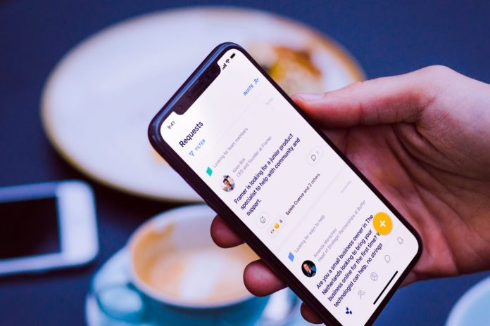 Cooper Professional Networking App Smartphone