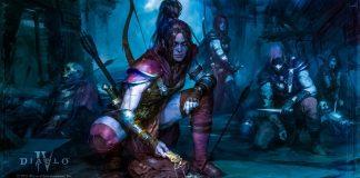 Diablo 4 Rogue Class BlizzCon News Games Blizzard Diablo 2 Remake Resurrected Key Art Wallpaper