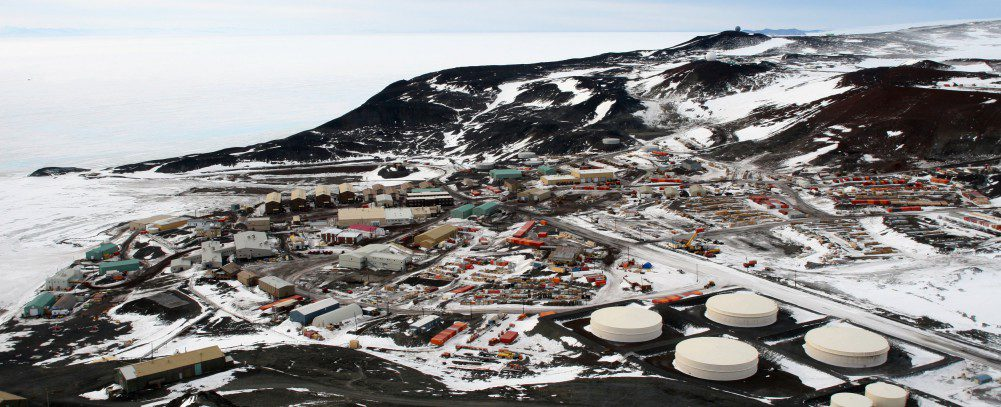 McMurdo Station in the Antarctic