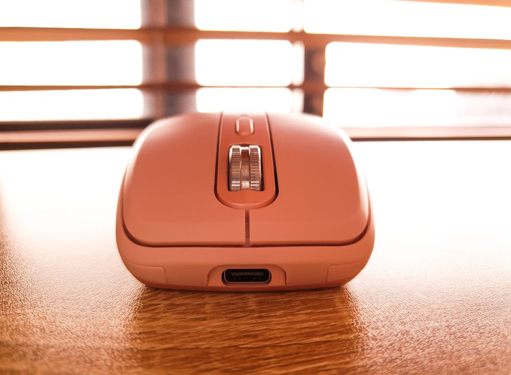 Logitech MX Anywhere 3 Wireless Bluetooth Mouse Pink Rose Compact Type C Rechargeable