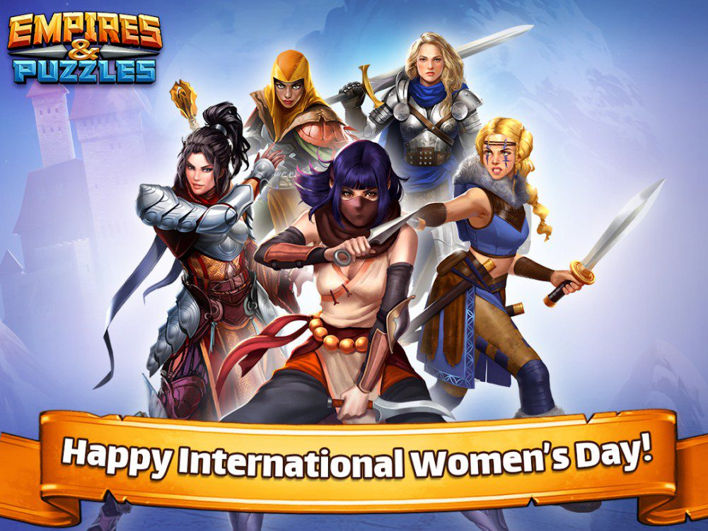 Empires And Puzzles International Womens Day (IWD)