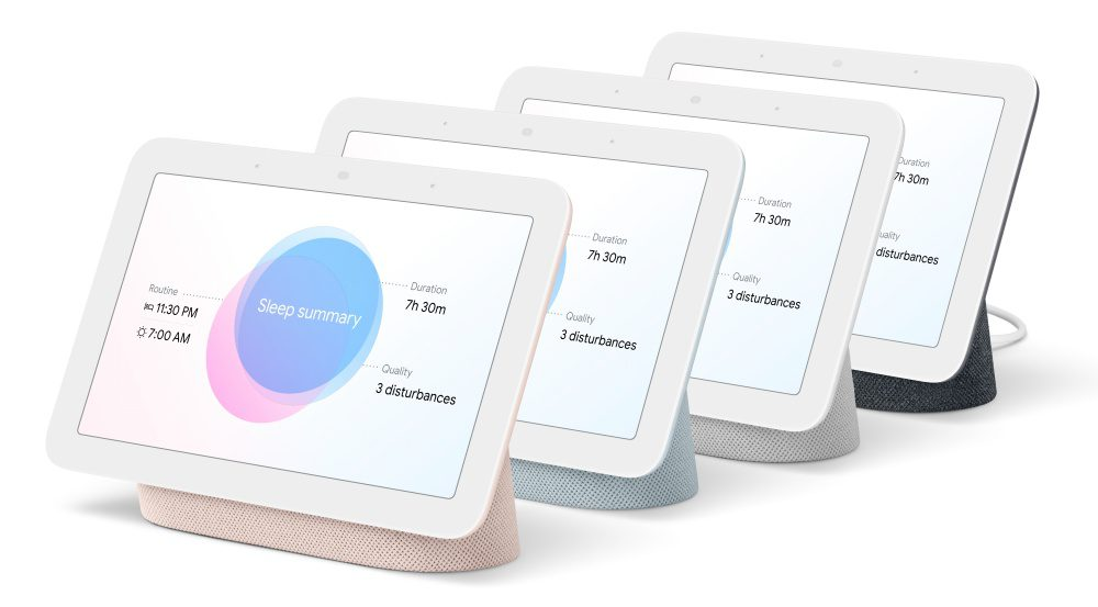 Google Nest Hub All Colors Including Mist Smart Home Products