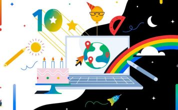 Intel Google Chromebook 10 Year Anniversary