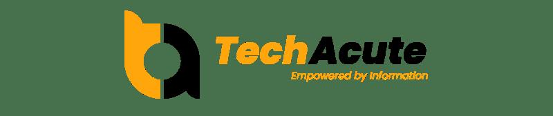 New TechAcute Logo