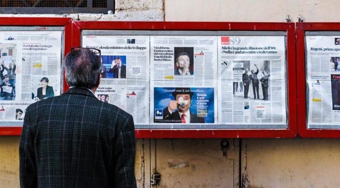 Unbiased Man Checking News
