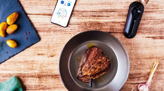 Meat-It-Plus Smart Meat Thermometer Probe Connected Cooking App Guide Assistant Review