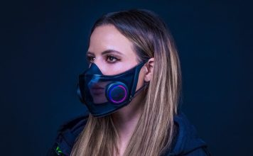 Project Hazel Smart Mask Razer Woman