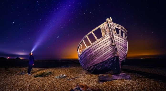 Ship Of Theseus Inc Company Everything Changes Time Man Night Wreck Shore Breach Dark Headlight Sky Start Business