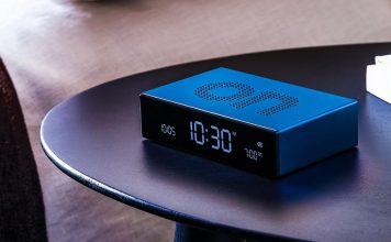 You Can't Turn Back Time but You Can Flip Your Alarm - Lexon Flip Premium Alarm Clock